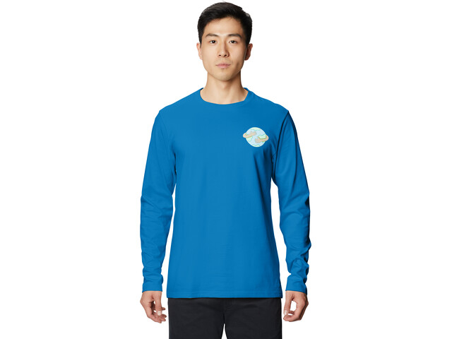 Mountain Hardwear Keep Earth Awesome Longsleeve Heren, blauw